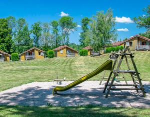 Holiday village Les Crozats in Uxelles - Children's playground